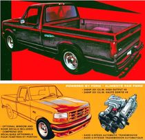 AMT 1994 Ford F-150 Lightning Pickup