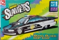 "AMT ""Slammers"" Series ""Road Block Cop Car"" 90's Chevy Caprice"