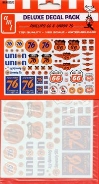 AMT Phillips 66 & Union 76 Deluxe Decal Pack