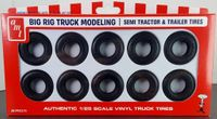 AMT Semi Tractor & Trailer Tires Big Rig Truck Modeling Parts Pack