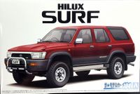 Aoshima 1990 Toyota Hilux Surf SSR Limited or 1991 Toyota Hilux Surf SSR-X Wide Body