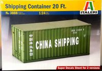 Italeri 20 Foot Shipping Container