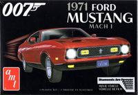 """AMT 1971 Ford Mustang Mach I, James Bond 007 """"Diamonds are Forever"""""""