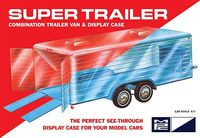 MPC Clear Enclosed Trailer or Display Case