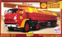 """Lindberg """"Shell"""" Dodge L700 Tractor with Tanker Trailer"""