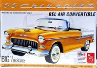 AMT 1955 Chevy Bel Air Convertible, 1/16th Scale, Stock or Street Machine