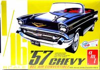 AMT 1957 Chevy Bel Air Convertible, 1/16th Scale, Stock or Street Machine