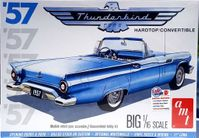 AMT 1957 Ford Thunderbird Hardtop or Convertible, 1/16th Scale, Stock or Street Machine
