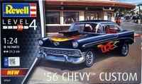 Revell of Germany 1956 Chevy Bel Air Hardtop, Stock or Custom
