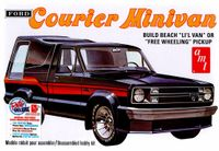 """AMT 1978 Ford Courier Fleetside Pickup Truck with Cap """"Courier Minivan"""""""