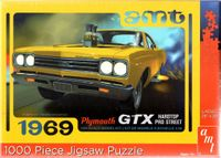 AMT 1969 Plymouth GTX Hardtop Pro Street 1000 pc. Puzzle