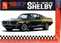 AMT 1967 Mustang Shelby GT 350 Fastback 1000 pc. Puzzle