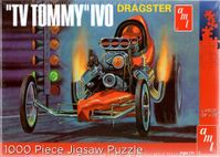 AMT Tommy Ivo Front Engine Top Fuel Dragster 1000 pc. Puzzle