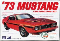 MPC 1973 Ford Mustang Mach 1 Fastback, Stock Mach 1, Trans Am Racer or Street Machine