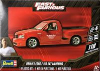 """Revell """"The Fast and the Furious"""" Brian's 1999 Ford F-150 SVT Lightning Pickup Truck"""