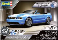 Revell 2010 Ford Mustang GT Convertible, Easy Click System