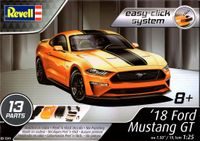 Revell 2018 Ford Mustang GT, Easy Click System
