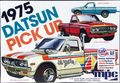 MPC 1975 Datsun Pickup Truck, Stock, Street Machine or Off Road Racer