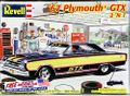 Revell 1967 Plymouth GTX Hemi Hardtop 2 in 1, Stock, Street Machine or Drag