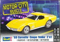 Revell 1969 Corvette 427 Coupe or Yenko 427 Coupe 2 'n 1