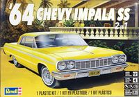 Revell 1964 Chevy Impala SS Hardtop, 2 'n 1, Stock or Lowrider