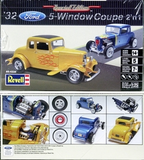 Revell 1932 Ford 5-Window Coupe Street Rod