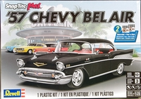 Revell 1957 Chevy Bel Air Hardtop, SnapTite Max