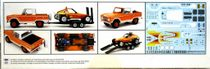 Revell 1970's Ford Bronco Half Cab with Dune Buggy and Trailer