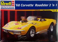 Revell 1968 Chevy Corvette 427 Convertible or Hardtop, 2 'n 1, Stock or Street Machine