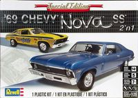 Revell 1969 Chevy Nova SS 350 Coupe, Stock or Drag