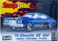 Revell 1970 Chevy Chevelle SS 454 Hardtop, Snap-Tite