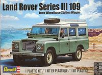 Revell 1971-1985 Land Rover Series III 109-inch Long Wheelbase Station Wagon