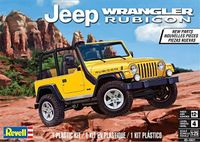 Revell 2003-2006 Jeep Wrangler Rubicon with New Parts