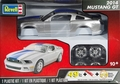 Revell 2014 Ford Mustang GT Coupe, Pre-Painted Silver with Blue Stripe