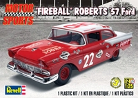 Revell Fireball Roberts #22 NASCAR 1957 Ford 2 Door Sedan
