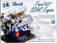 Revell Ford 427 SOHC Engine, 1/6th Scale