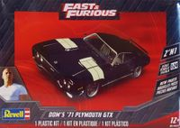 """Revell/Monogram Dom's """"Fast & Furious"""" 1971 Plymouth GTX"""