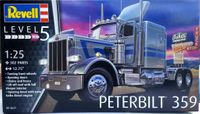 Revell Peterbilt 359 Semi Tractor with Detailed Sleeper