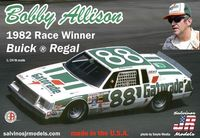 "Salvinos Jr. Models Bobby Allison ""Gatorade"" #88 1982 Buick Regal"
