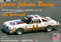 "Salvinos Jr. Models Cale Yarborough ""First National City Travelers Checks"" #11 1977 Oldsmobile Cutlass 442, Raced in the 1978 season"