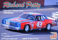 "Salvinos Jr. Models Richard Petty ""STP"" #43 1977 Monte Carlo Raced in the 1980 Season"