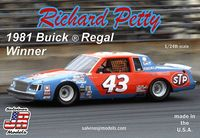 "Salvinos Jr. Models Richard Petty ""STP"" #43 1981 Buick Regal"