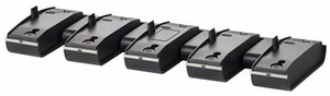 Bank of 5 charging bases 84609-01 for Plantronics Savi W740 and W440 Wireless Headsets