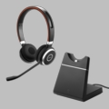 Jabra Evolve 65 MS Stereo BlueTooth Headset w/Charging Stand