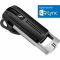 Sennheiser PresenceUCML High End Bluetooth Mobile Business headset with small dongle for UC, MS Lync certified. Carying case included. A2DP, Voice prompt, music streaming.