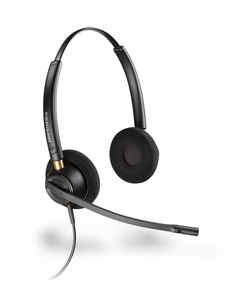 Plantronics HW520 EncorePro Binaural Headset NEW