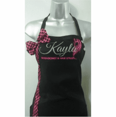 Salon Aprons with Ribbons / Graphic Design Aprons