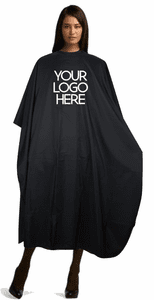 <font color=#B40431>GET YOUR SALON LOGO PRINTED ON THIS CAPE<font color=#B40431>