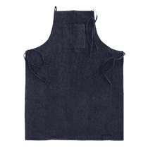 "<b>Hi-Tech Denim 26"" Detailing Apron with Vinyl Back & Pockets</b>"