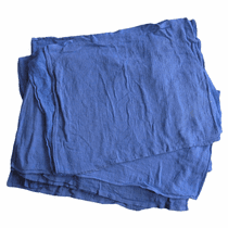 Hi-Tech Blue Lint Free Huck Towels - 10 LB Box